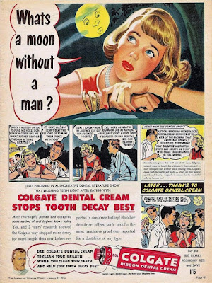 Colgate - What's a moon without a man?