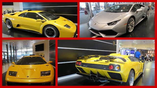 Weekend in Bologna - Lamborghinis on Display