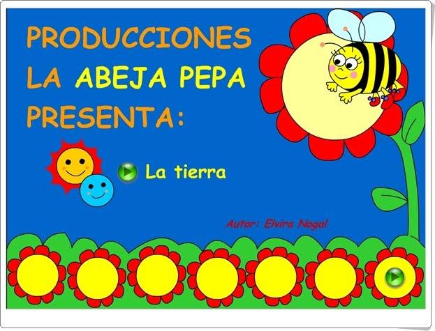 """La Tierra da vueltas"" (Animación de ""La Abeja Pepa"")"