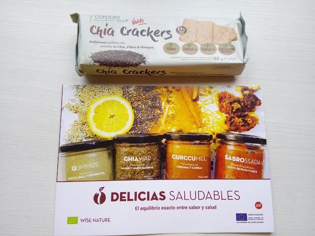 Chia crackers 62 grs