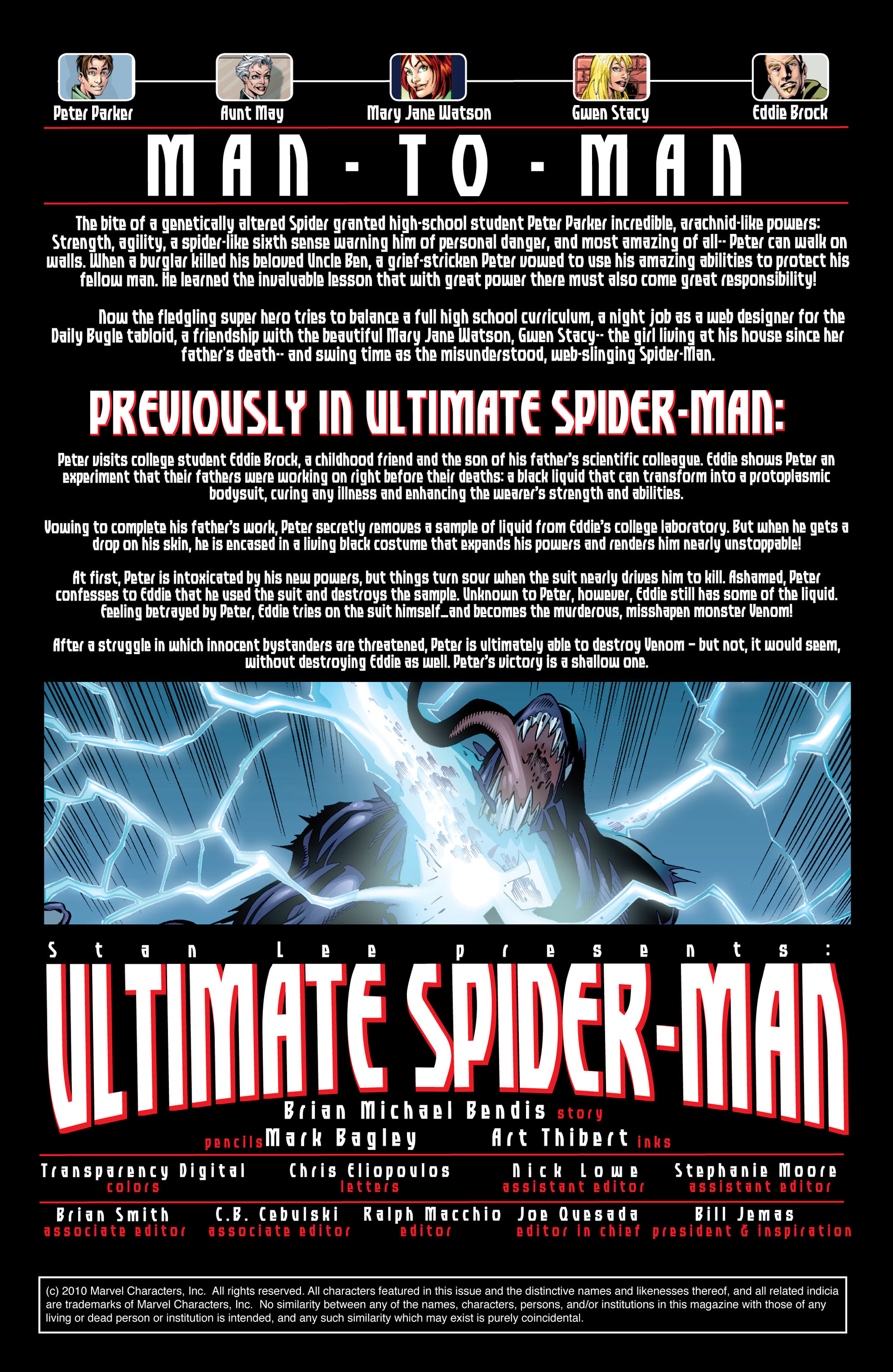Read online Ultimate Spider-Man (2000) comic -  Issue #39 - 2
