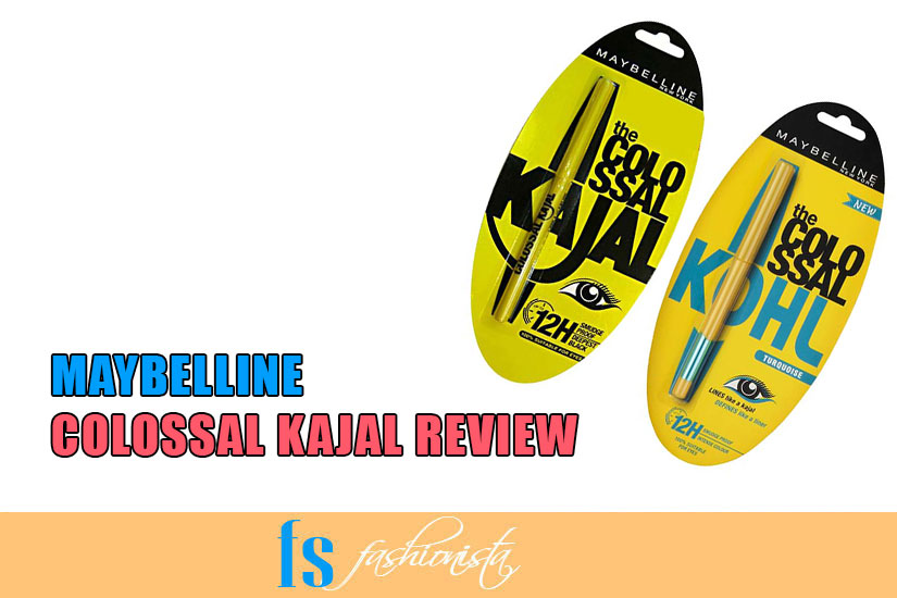 Maybelline Colossal Kajal/Eyeliner Review