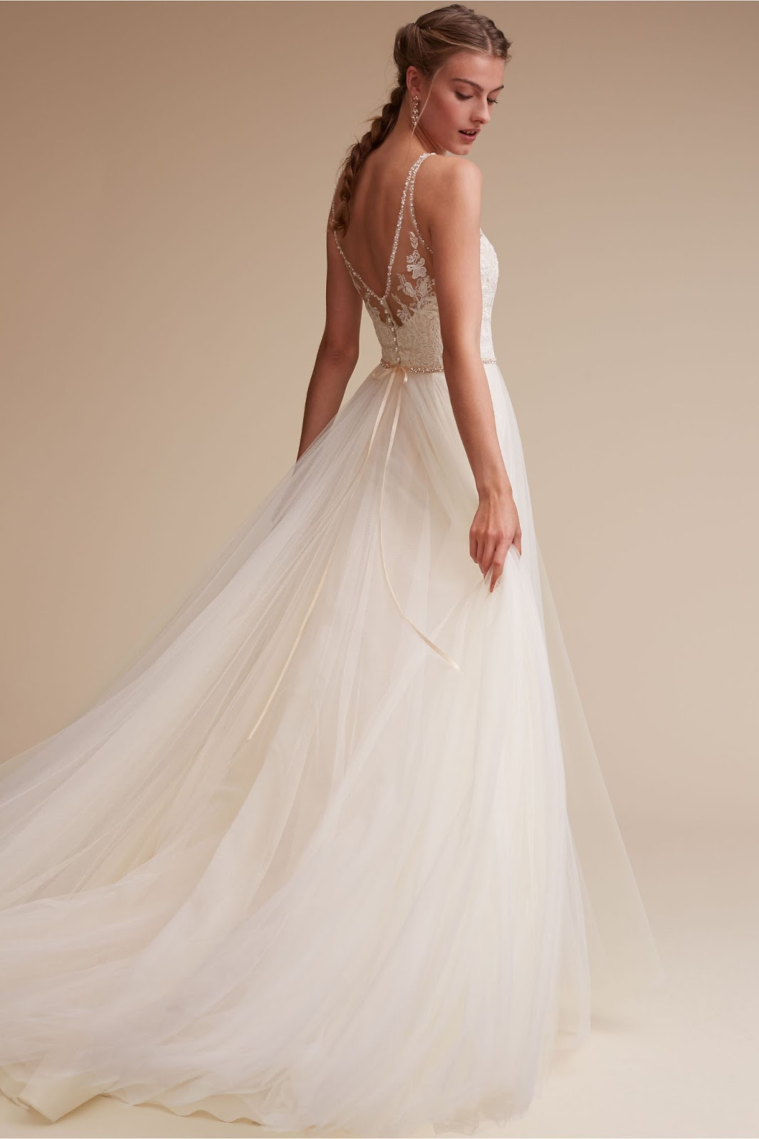 Miss Ruby Boutique  BHLDN Gowns at Miss Ruby Boutique  BHLDN s Cassia Gown