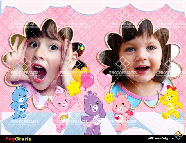 Adorable marco para 2 fotos de los Ositos Cariñositos