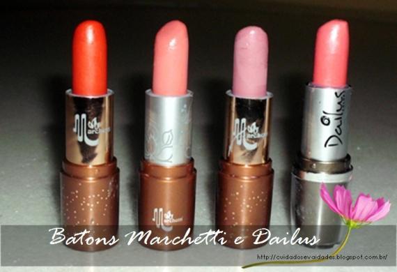 Batons Marchetti 43, 63 e 71 - Dailus N° 72