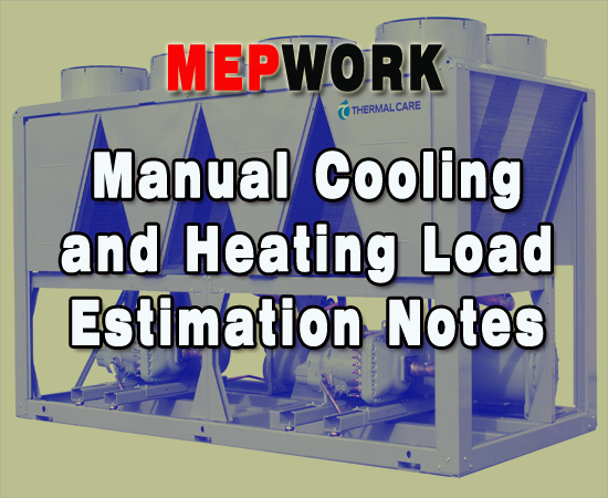 HVAC, Heating, Load Estimation, PDF, Calculations, Air Conditioning,