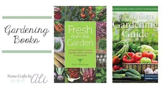vegetable garden growing guides recently published