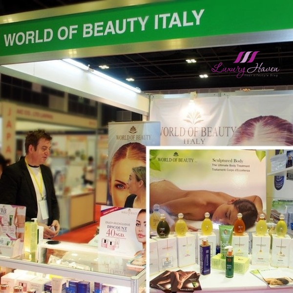 beautyasia 2016 world of beauty italian phytoaroma cosmeceuticals