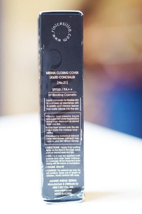 Missha Closing Cover Liquid Concealer