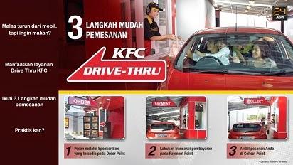 2015, Daftar Harga, Harga Menu, Harga Menu KFC Indonesia 2015, Harga Paket KFC Layanan Drive-Thru,