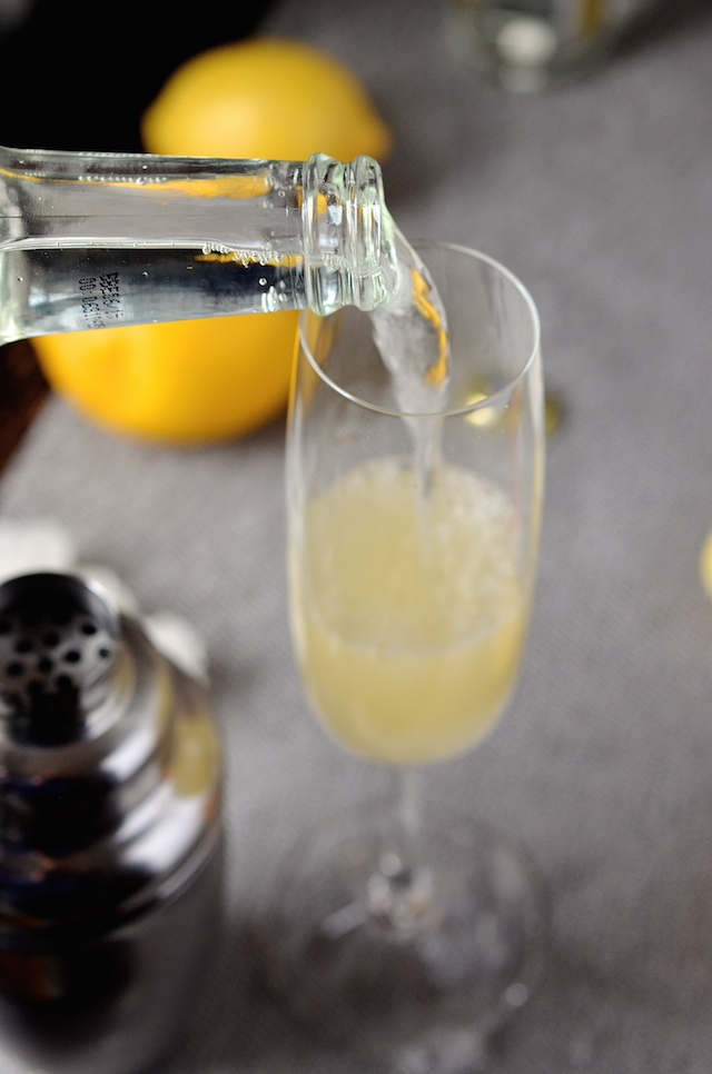 French 75 Mocktail Non Alcoholic Always Order Dessert