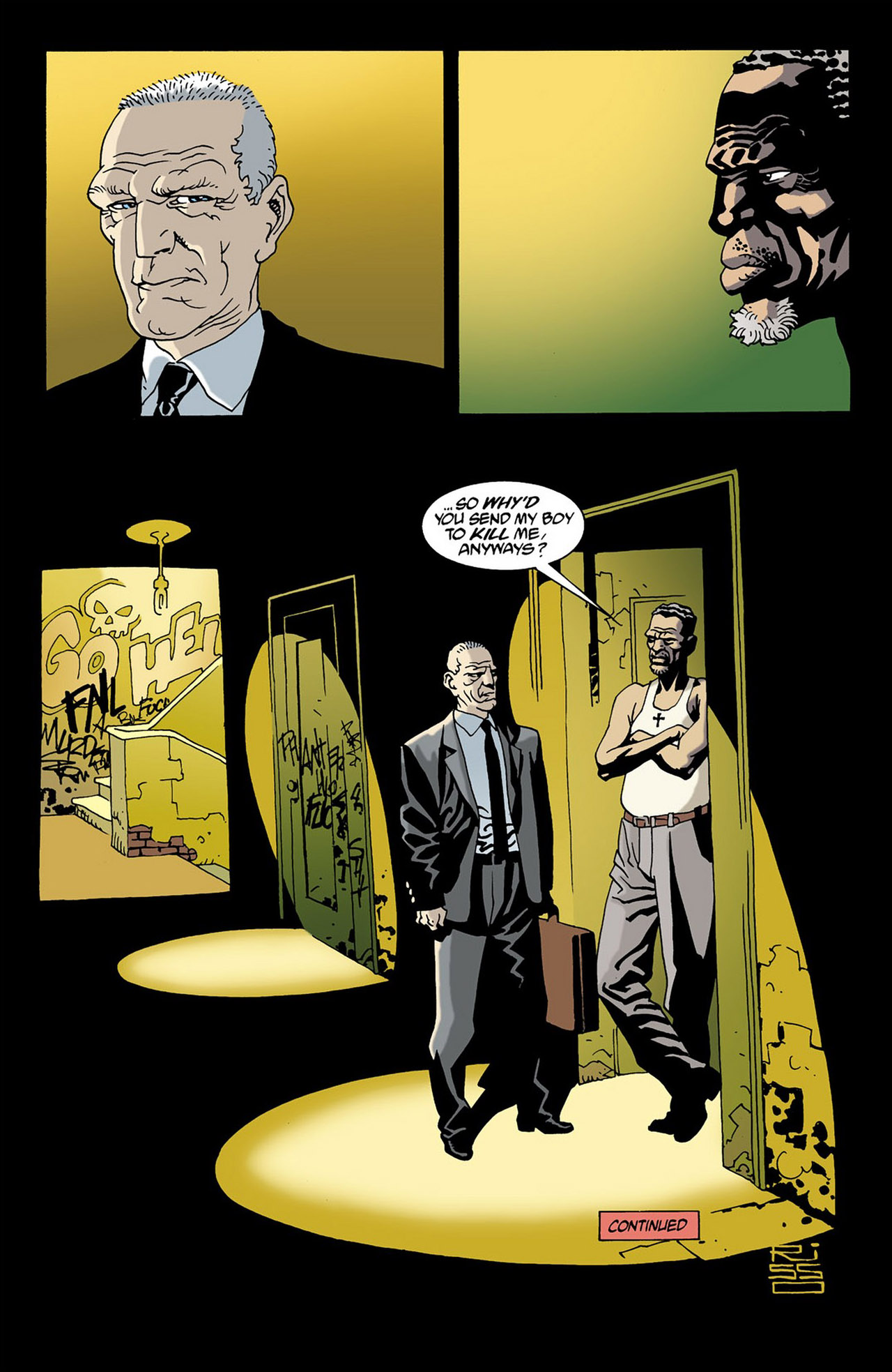 Read online 100 Bullets comic -  Issue #16 - 23