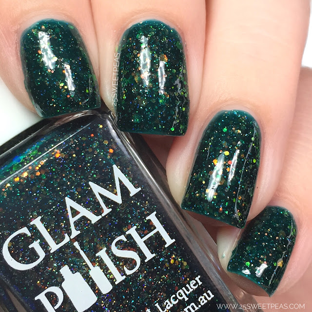 Glam Polish The Girl Who Cried Monster