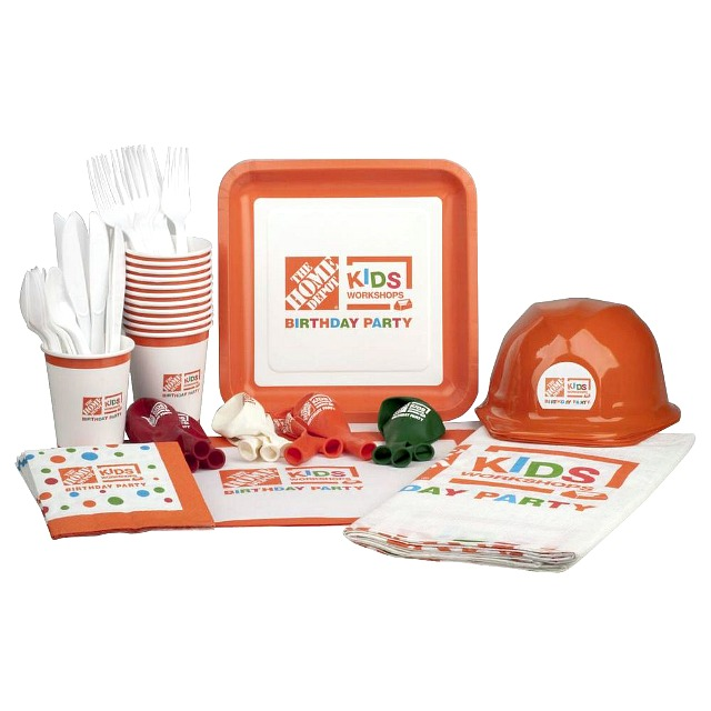 kids workshop birthday party supplies kit