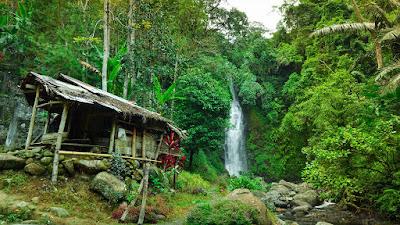 Air Terjun Kembar di sinjai wisata alam
