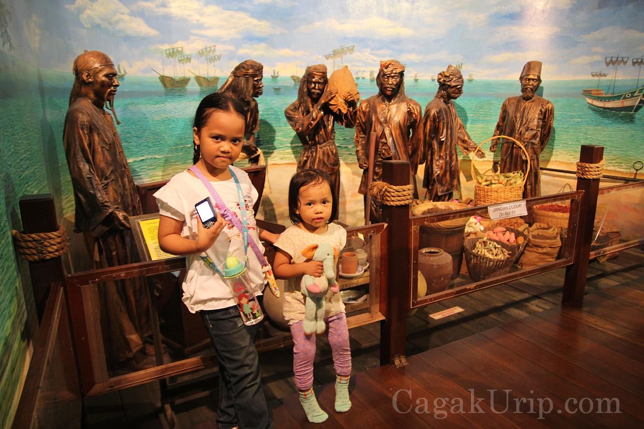 Diorama di dalam Museum Samudera, Melaka