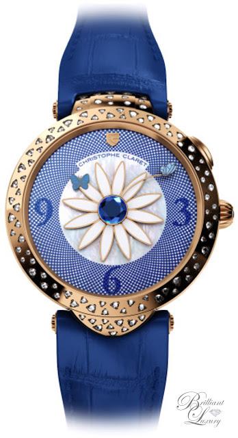 Brilliant Luxury ♦ Christophe Claret Marguerite Watch Women