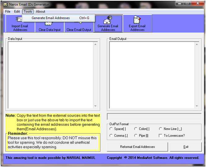 MediaAnt Software