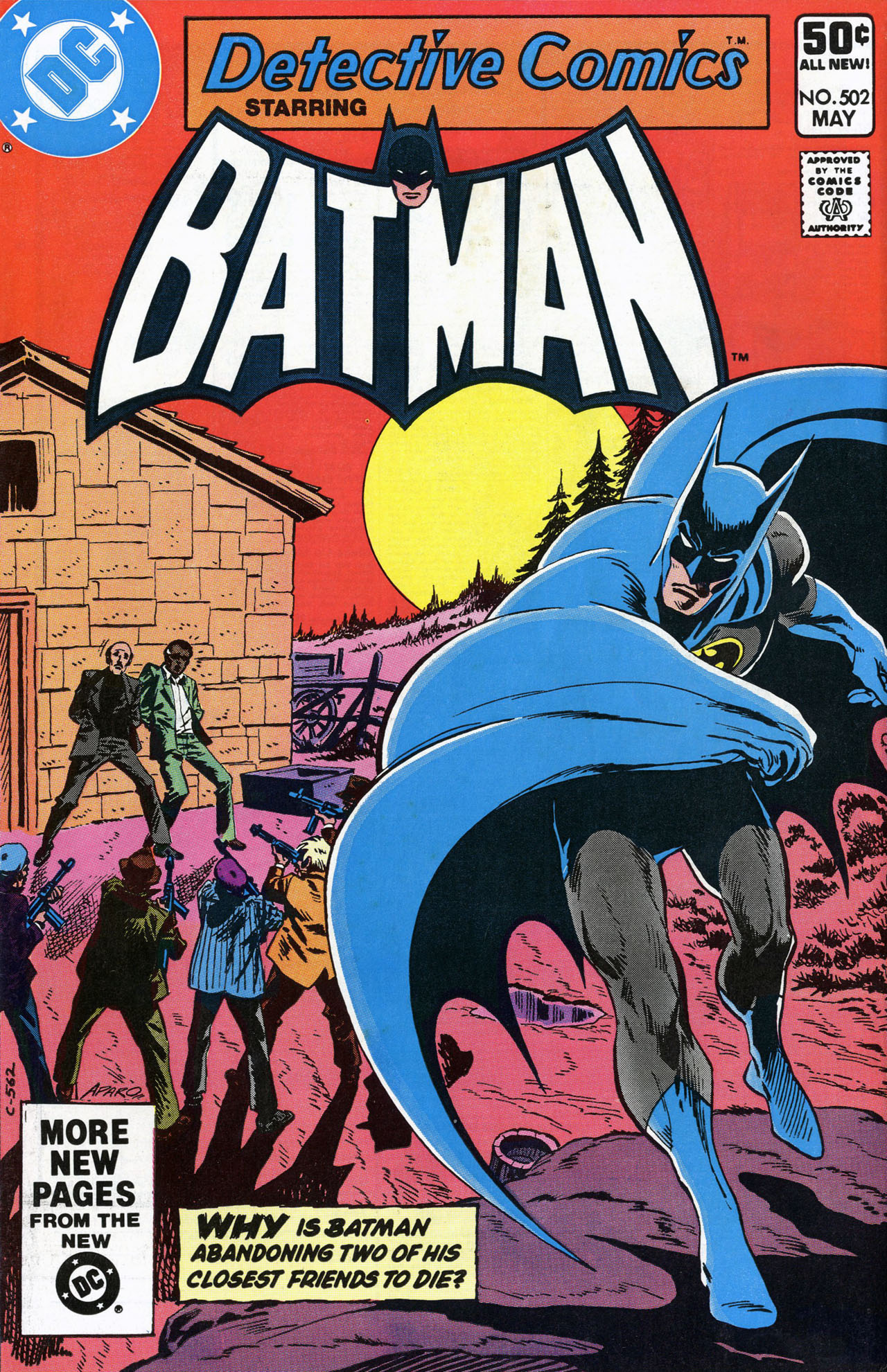 Detective Comics (1937) 502 Page 0