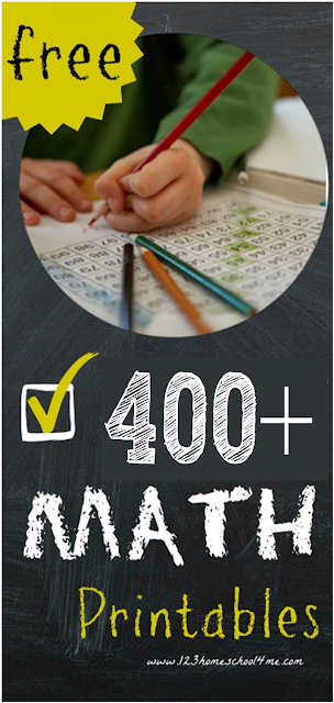 Math worksheets and math games for pre school, kindergarten, and k12