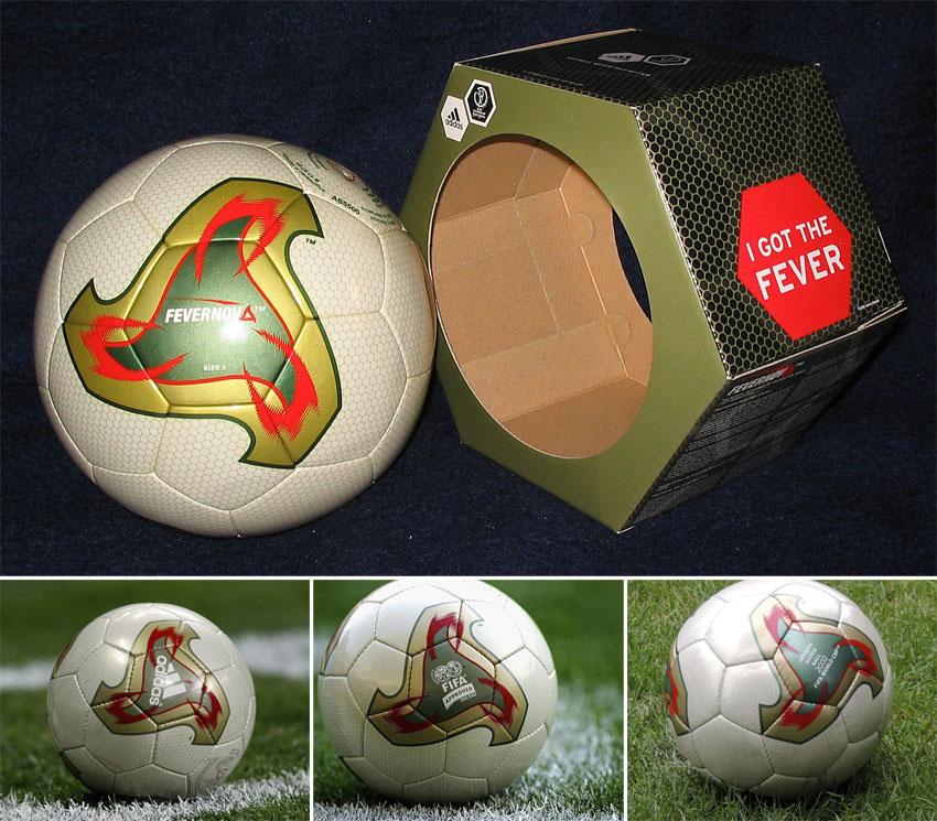 Atrás, atrás, atrás parte crédito jaula  elFutbloglin: Adidas Fevernova (Mundial 2002)