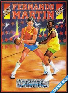 Portada Videojuego Fernando Martín Basket Master