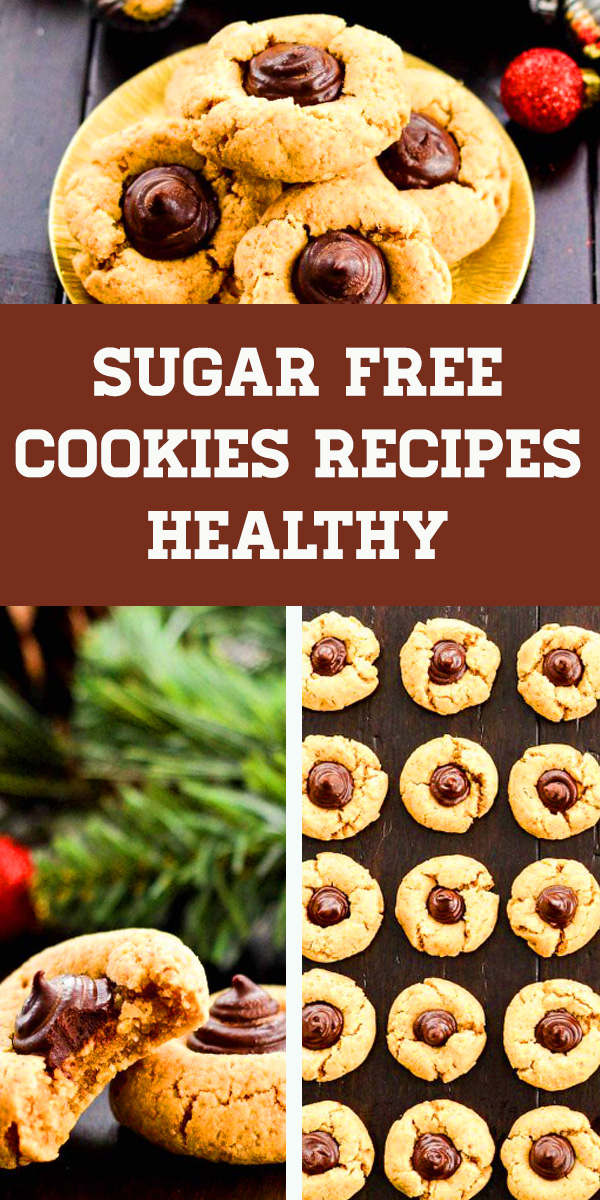 Sugar Free Cookies Recipes Healthy - Diabetic desserts, Diabetic recipes type 2, Sugar free desserts for diabetics, Sugar free snacks, Sugar free cookies diabetic, Sugar free baking. #sugarfree #almond #almondbutter #sugarfreecookies #healthy #cookies #cleaneating #paleo #diabeticdesserts #sugarfreesnacks #diabetic #almondjoy