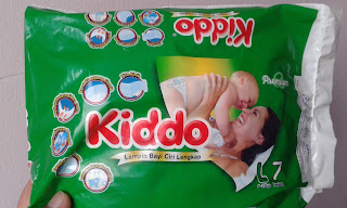 Terima Sampel Diapers Kiddo