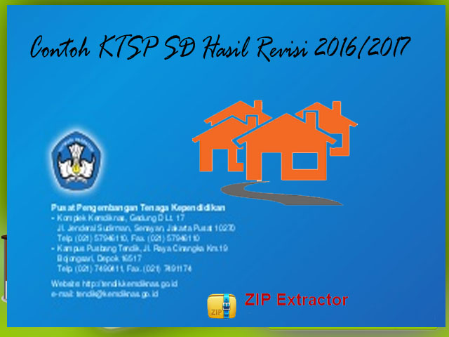 Download Contoh KTSP SD Hasil Revisi Format Words.Doc