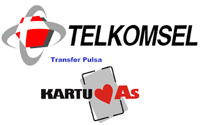 cara transfer pulsa simpati ke as
