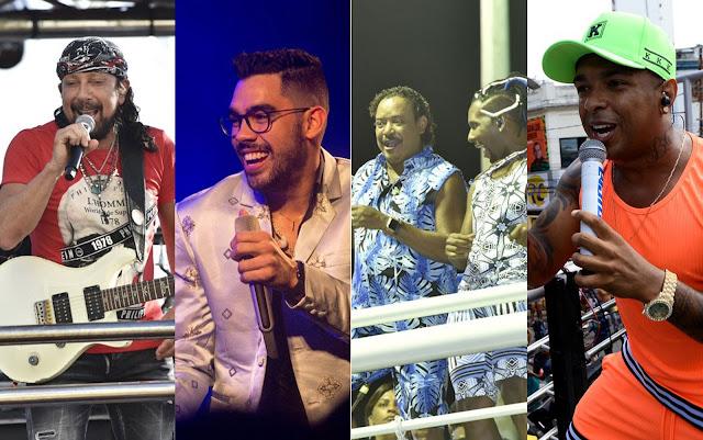 Bell Marques, Gabriel Diniz, É o Tchan e La Fúria abrem a micareta 2019 de Feira de Santana nesta quinta; confira