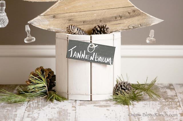 Wood Spool Christmas Tree Bliss-Ranch.com