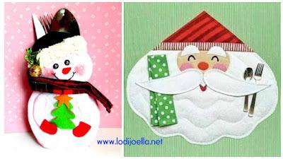 porta-cubiertos-navideño