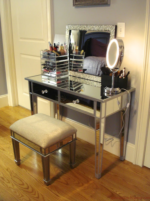 Hayworth Mirrored Vanity Knockoff