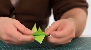 Origami Step By Step For Kids Rose
