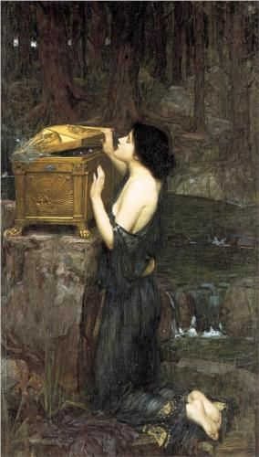Pandora John William Waterhouse
