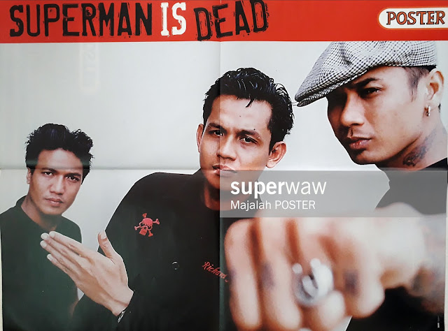 POSTER SUPERMAN IS DEAD