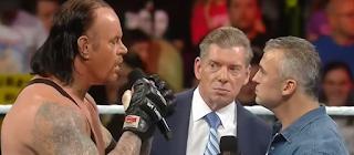 shane mcmahon vs undertaker, wrestlemania 32 con la familia mcmahon, retiro de undertaker en wrestlemania, regreso de shane mcmahon