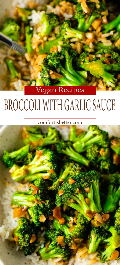 BEST BROCCOLI WITH GARLIC SAUCE RECIPE