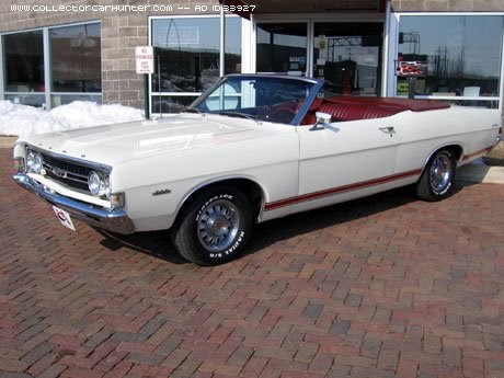 Classic Cars For Sale 1968 Ford Torino Gt Convertible