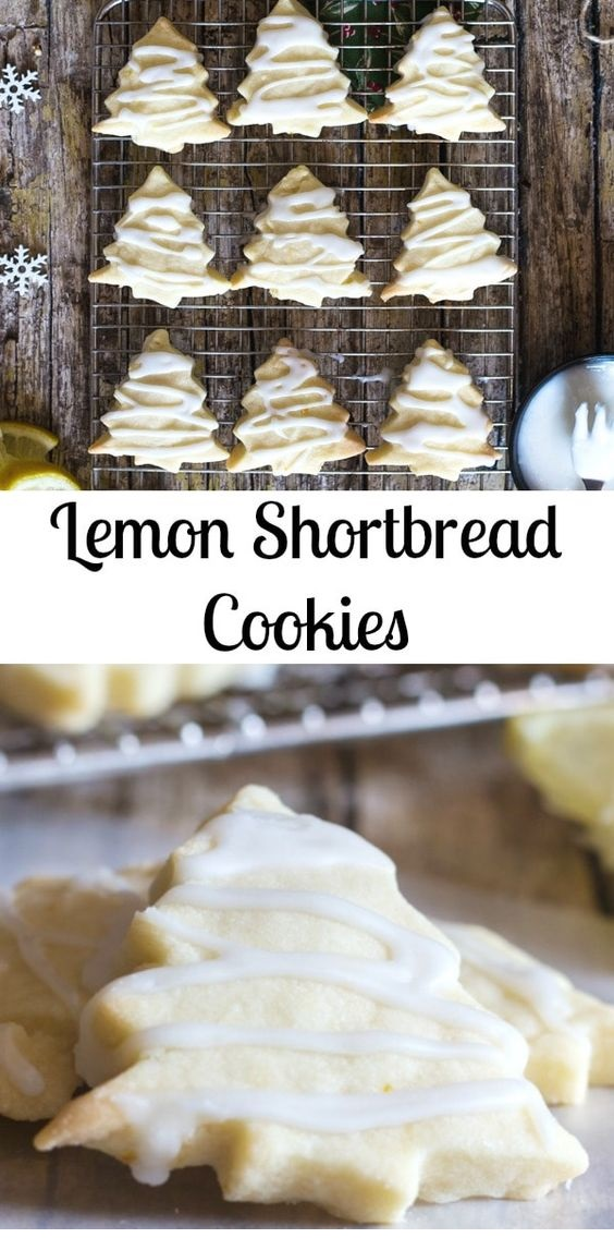 Lemon Shortbread Cookies + 5 More Must Bake Shortbread Recipes