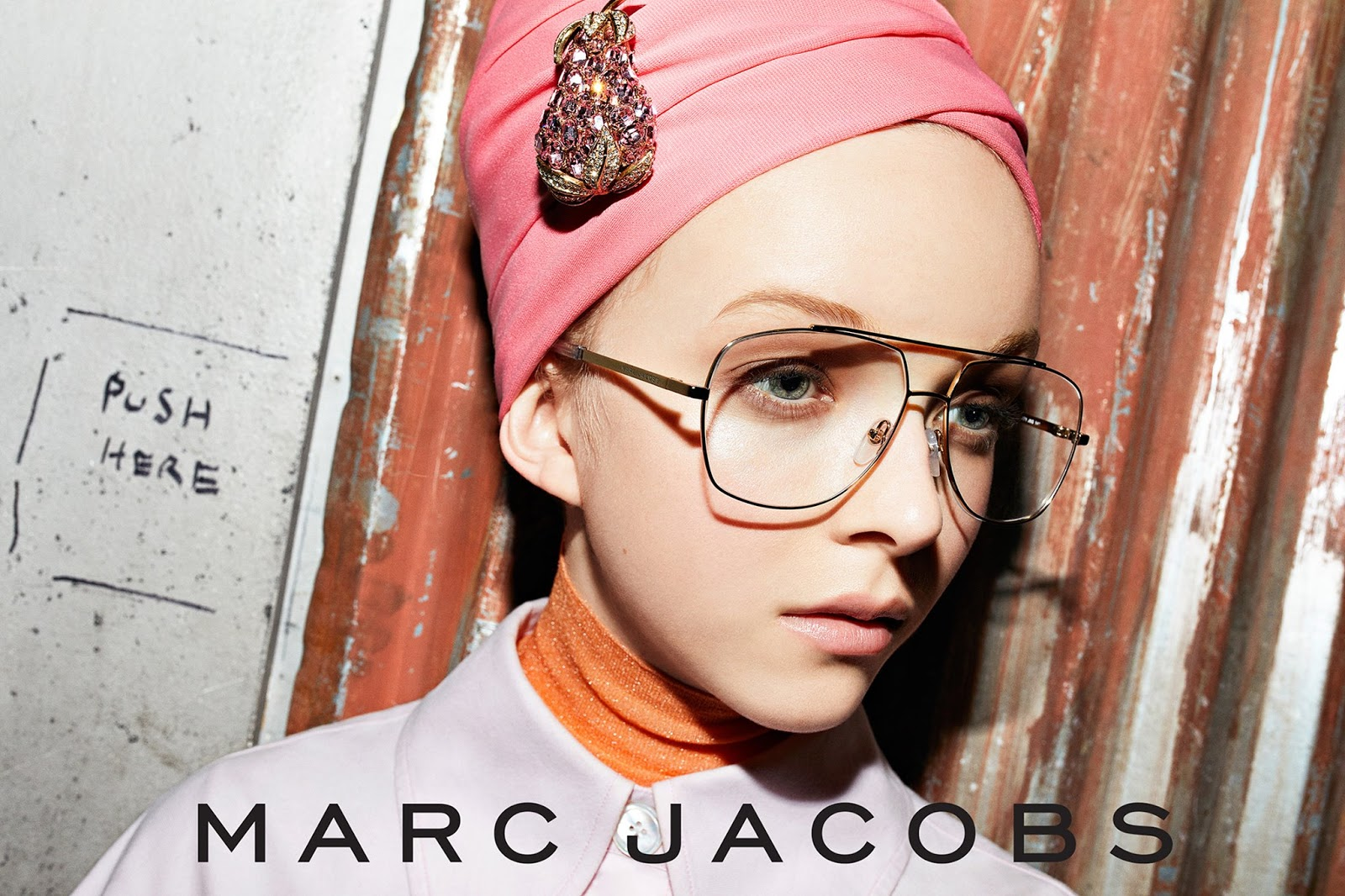 Marc Jacobs Eyewear & Watch Campaign 2018