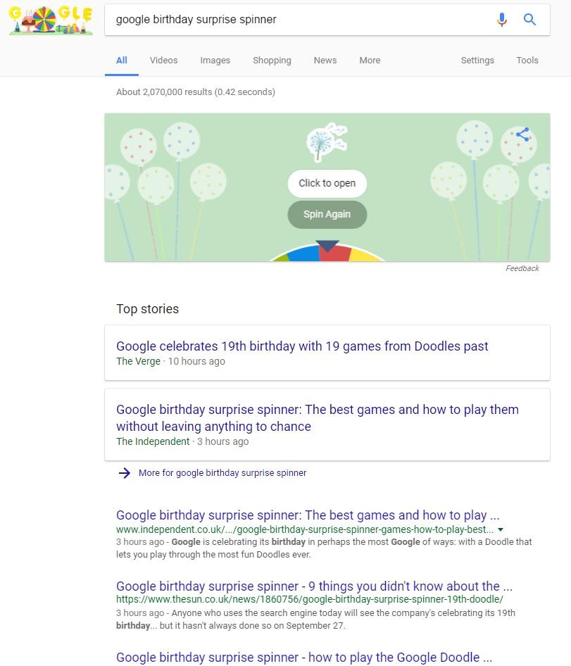 Allthingsdigitalmarketing Blog Happy 19th Birthday Google