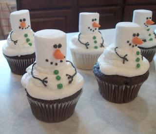 Decoración Navideña, Cup Cakes