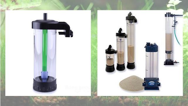 filtro de lecho fluido acuario arena