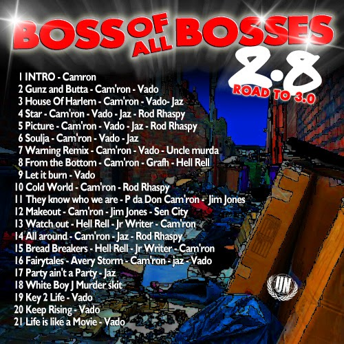 Cam'ron x Vado – Boss Of All Boses 2.8: Road To 3.0 (Mixtape)