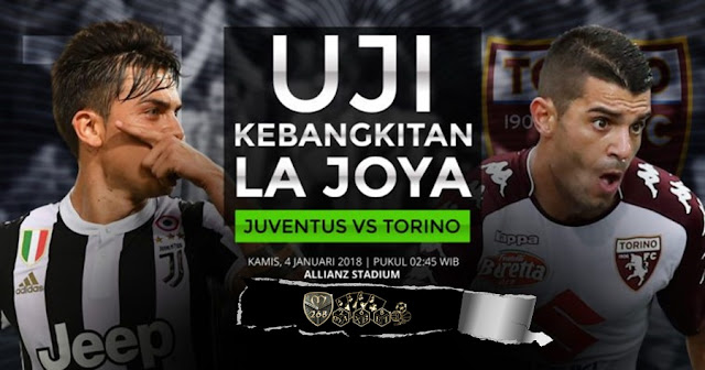 Prediksi Bola : Juventus Vs Torino , Kamis 04 January 2017 Pukul 02.45 WIB