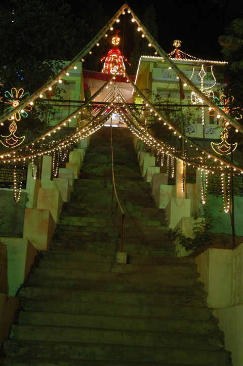 Badrika Ashram Ati Rudra Maha Yagya Light Decoration