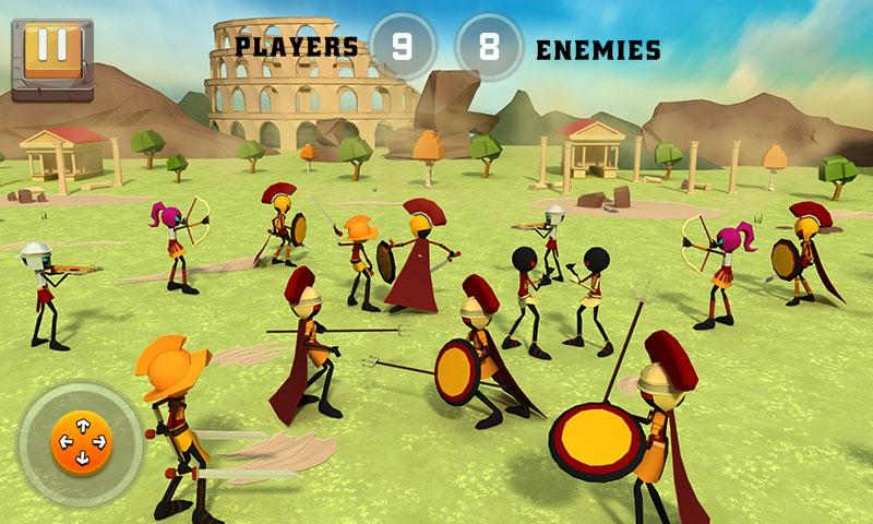 Battle of Rome War Simulator MOD APK