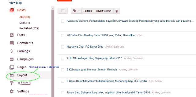 cara membuat about me di blog